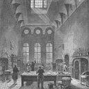 ST.JAMES'S PALACE. Kitchen of St.James's Palace, in time of George III c1880